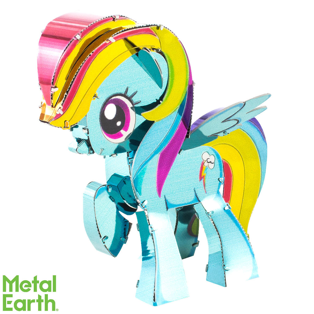 Fascinations Metal Earth 3D Laser Cut Model Kit My Little Pony - Rainbow Dash