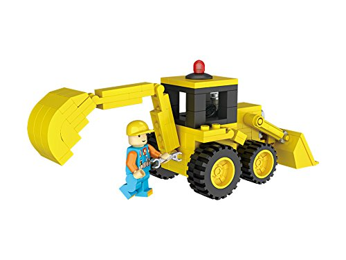 LOZ Mini Blocks Junior City Series 151pc Bone Crusher Construction Truck
