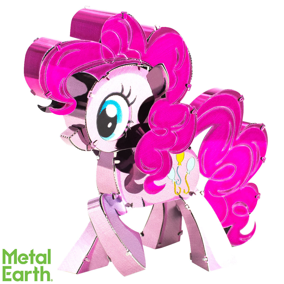 Fascinations Metal Earth 3D Laser Cut Model Kit My Little Pony - Pinkie Pie