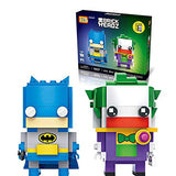 LOZ Mini Block Character Series Batman and Clown 1702