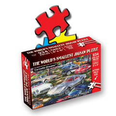 TDC Puzzles World's Smallest Jigsaw Puzzle Corvette Dreams Cars