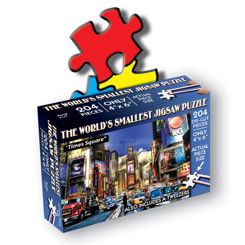 TDC Puzzles World's Smallest Jigsaw Puzzle New York City Time Square