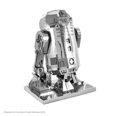 Metal Earth 3D Laser Cut Model KIT Star Wars R2-D2 - MEGA (Unassembled)