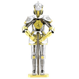 Metal Earth 3D Laser Cut Steel Model Building Kit - European Knight Armor