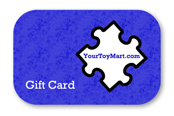 Gift Card (Valid for YourToyMart.com OR MetalEarthModel.com)