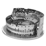 Fascinations Metal Earth 3D ICONX Laser Cut Model Roman Colosseum Ruins