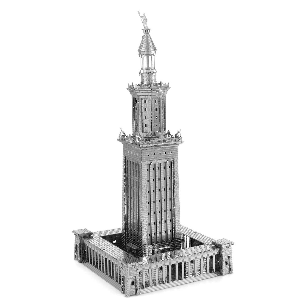 Fascinations Metal Earth 3D ICONX Laser Cut Model Lighthouse of Alexandria