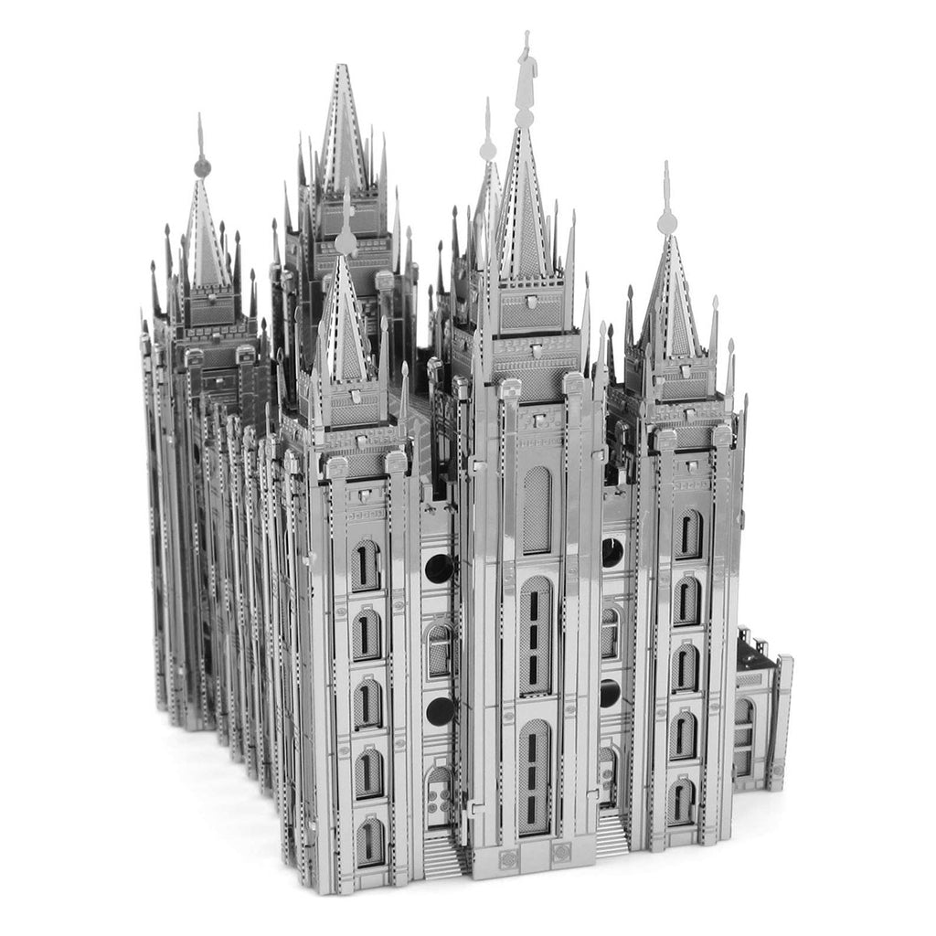 Fascinations Metal Earth 3D ICONX Laser Cut Model Salt Lake Temple