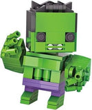 LOZ Diamond Blocks Brick 'H'eadz 163 piece Mini Block Set - The Hulk