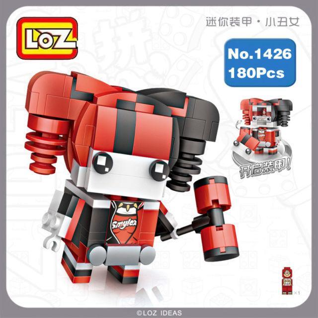 LOZ 1426 DC Hero Harley Quinn 180 Pieces Mini Building Diamond Nano Block Toy