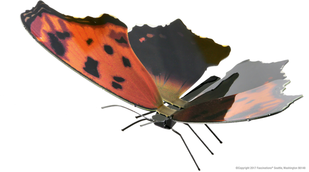 Metal Earth 3D Laser Cut Model Kit Butterfly - Eastern Comma