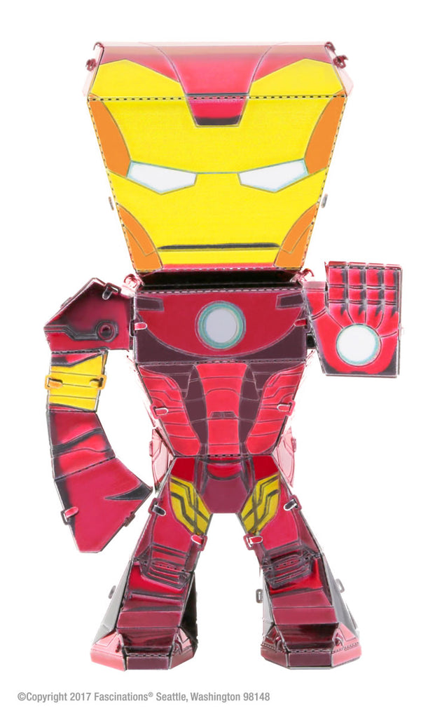 Metal Earth Legends Mini Caricature Model - Iron Man