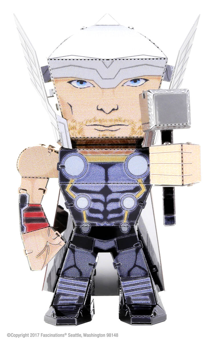 Metal Earth Legends Mini Caricature Model - Thor
