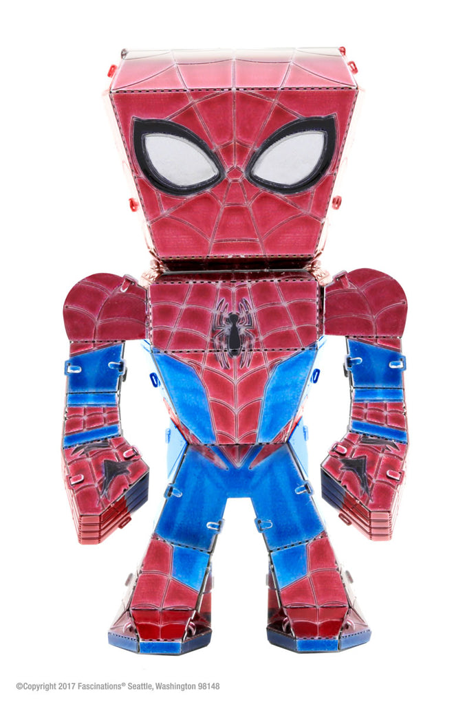 Metal Earth Legends Mini Caricature Model - Spiderman