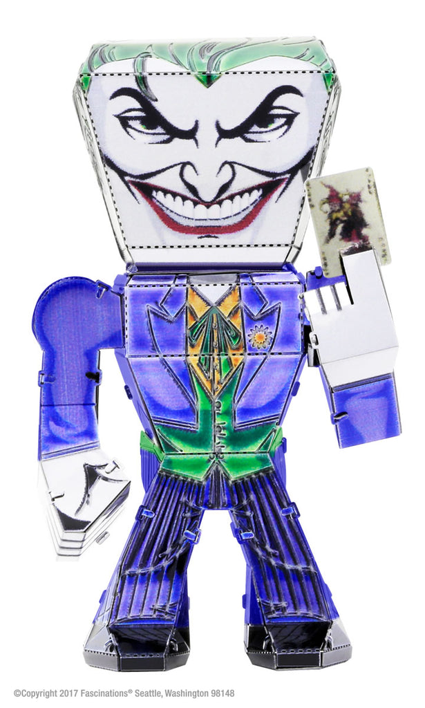 Metal Earth Legends Mini Caricature Model - The Joker Classic