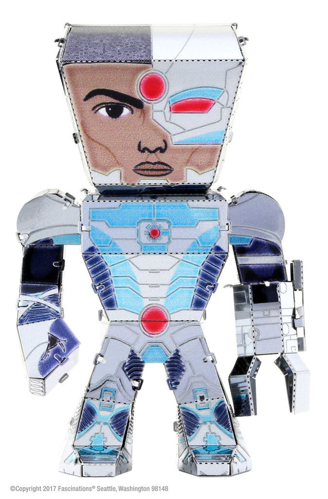Metal Earth Legends Mini Caricature Model - Cyborg