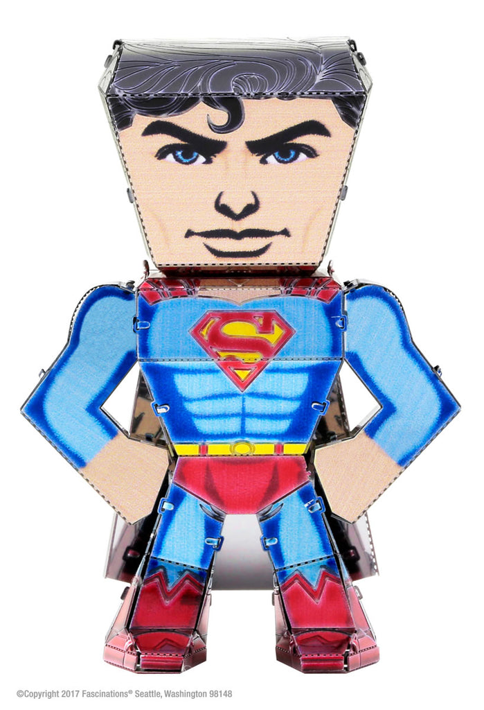 Metal Earth Legends Mini Caricature Model - Superman