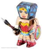 Metal Earth Legends Mini Caricature Model - Wonder Woman
