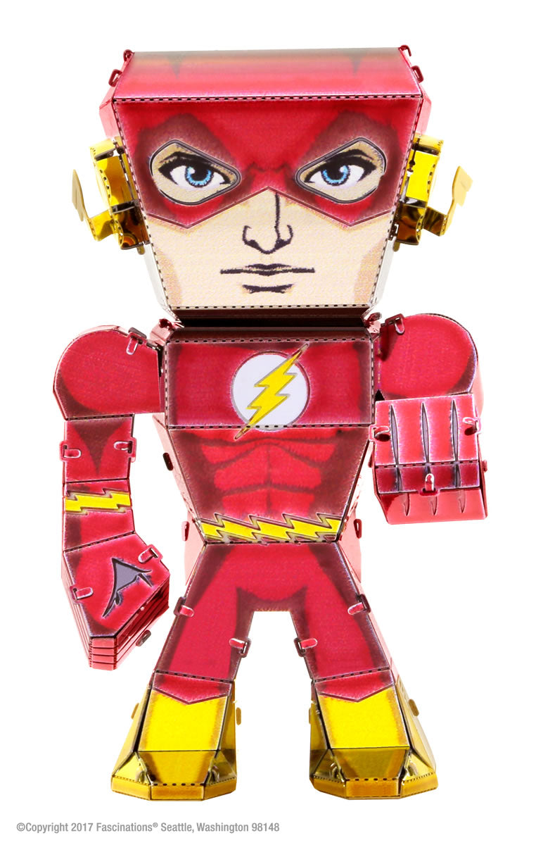 Metal Earth Legends Mini Caricature Model - The Flash