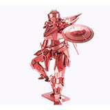 Piececool 3D Laser Cut Steel Model Building Kit - Shield Man