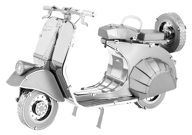 Metal Earth 3D Laser Cut Model Kit Classic Vespa 125