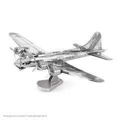 Metal Earth Model Kit B-17 B17 Flying Fortress Airplane