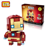 LOZ Mini Block Brickheadz Super Hero Series Set of 4 1401020304