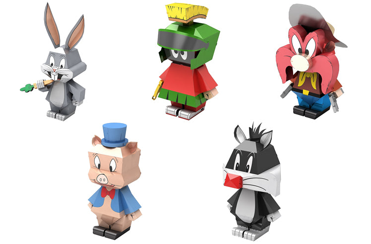 Metal Earth Warner Brothers Looney Tunes Model Kit - SET of 5 LEGENDS