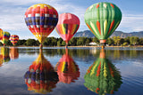 TDC Puzzles World's Smallest Jigsaw Puzzle Hot Air Balloons Taking On Airs