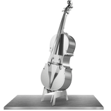 Metal Earth 3D Laser Cut Model Bass Fiddle Music