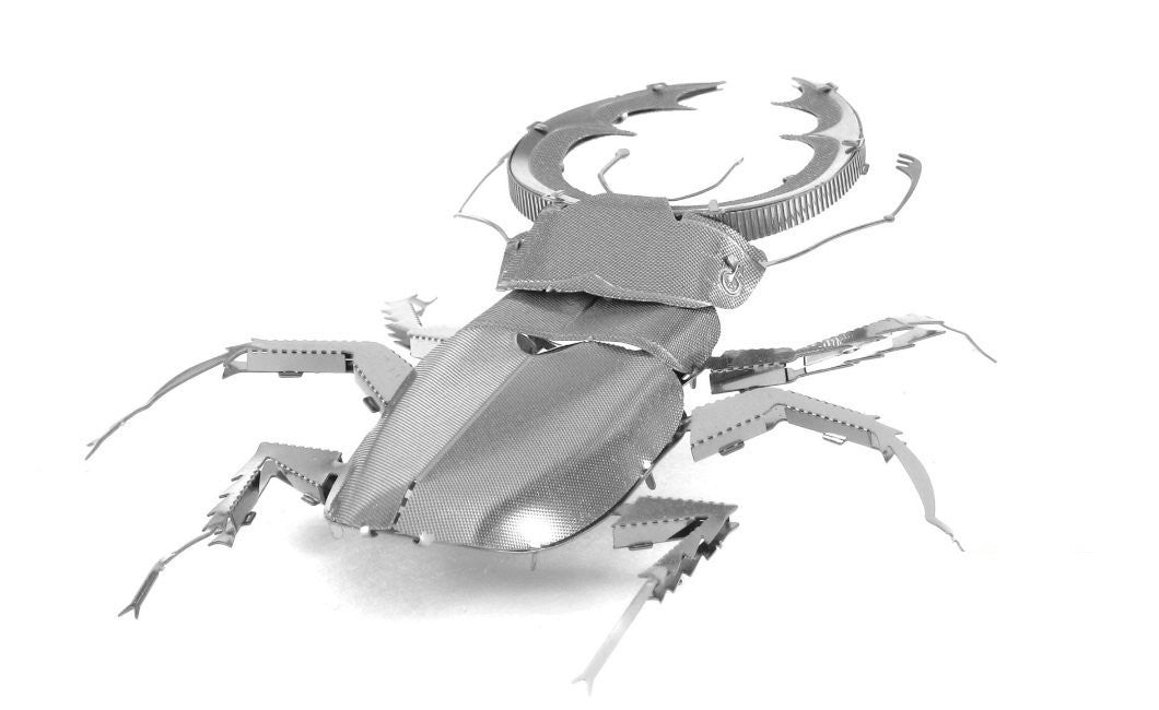 Metal Earth 3D Laser Cut Model Stag Beetle Bug