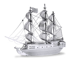 Metal Earth 3D Laser Cut Model Black Pearl Pirate Ship