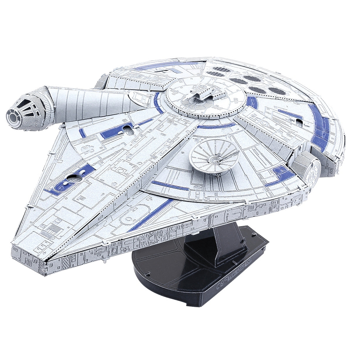 Metal Earth ICONX 3D Laser Cut Model Kit Solo Star Wars Lando's Millennium Falcon