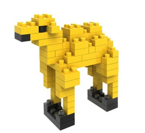 LOZ Diamond Blocks Animals Gift Series Nano Block 80 Piece Building Set - Camel