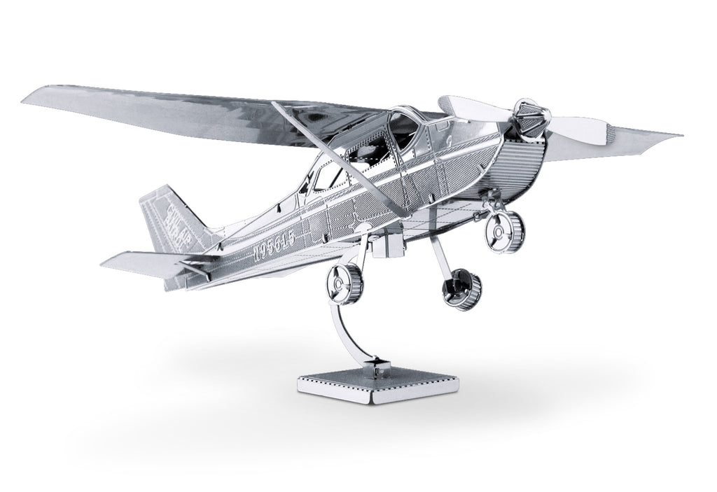 Metal Earth 3D Laser Cut Model Cessna 172 Airplane