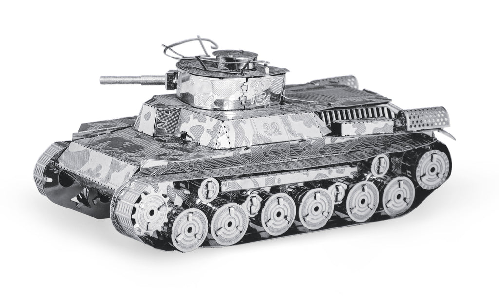Metal Earth 3D Laser Cut Model Chi Ha Military Tank
