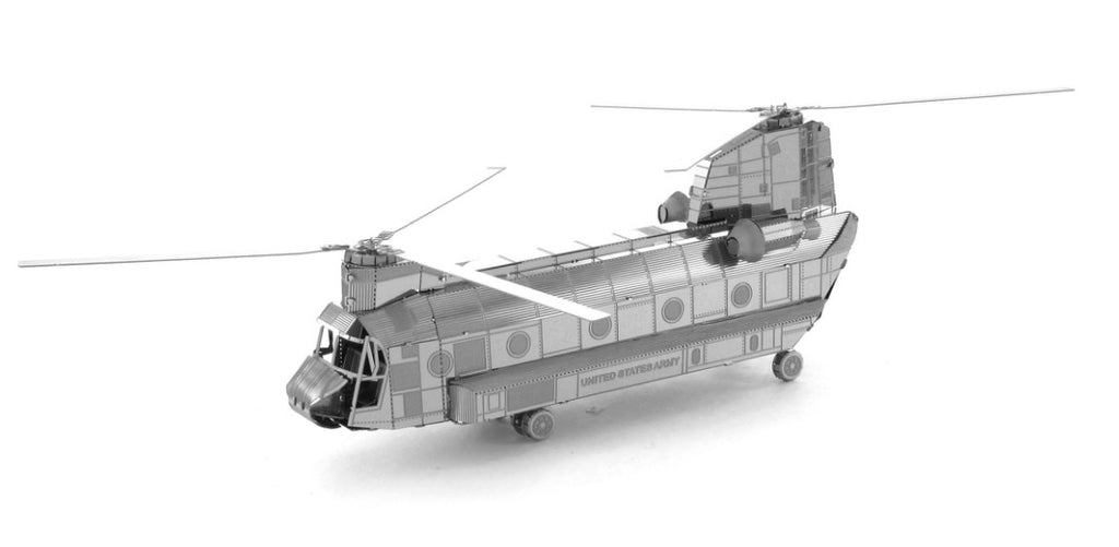 Metal Earth 3D Laser Cut Model Chinook CH-47 Helicopter
