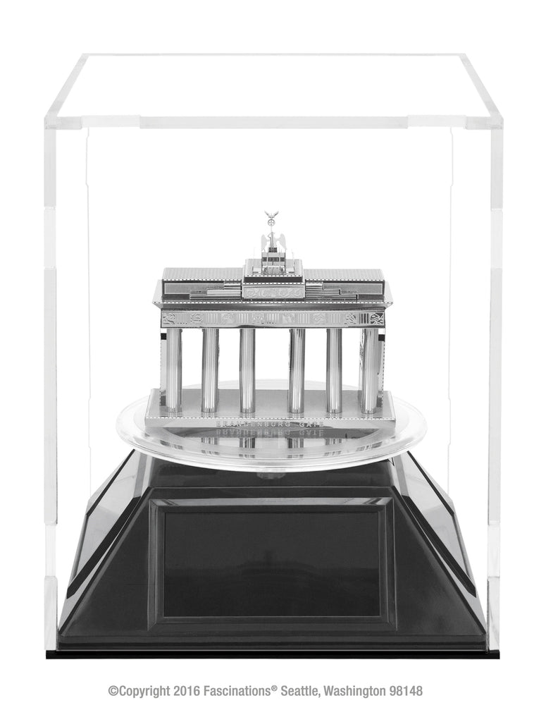Fascinations Metal Earth Acrylic Cube Display Case 4.6 in x 4.6 in  x 5.6 inches