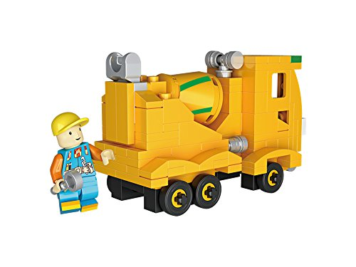 LOZ Mini Blocks Junior City Series 176pc Agitating Lorry Cement Construction Truck