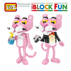 LOZ Diamond Building Blocks - The Pink Panther