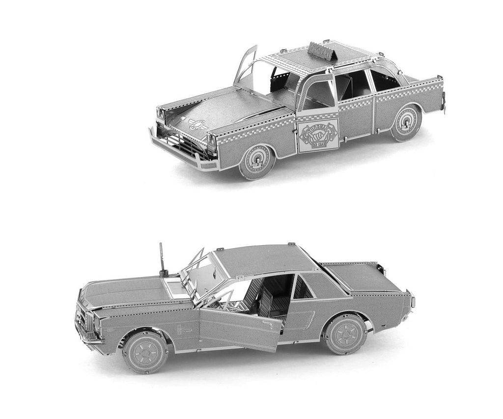 Metal earth models automobiles and vehicles at yourtoymart for Ford models nyc
