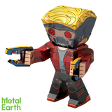 Metal Earth Legends Mini Caricature Model - Star-Lord