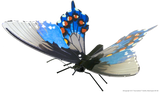 Metal Earth Butterflies 3D Metal Model Kit - Eastern Comma, Pipevine Swallowtail, Red Admiral, Red Spotted Purple