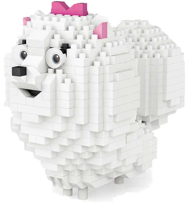 LOZ Diamond Block Secret Life of Pets Dog - Gidget