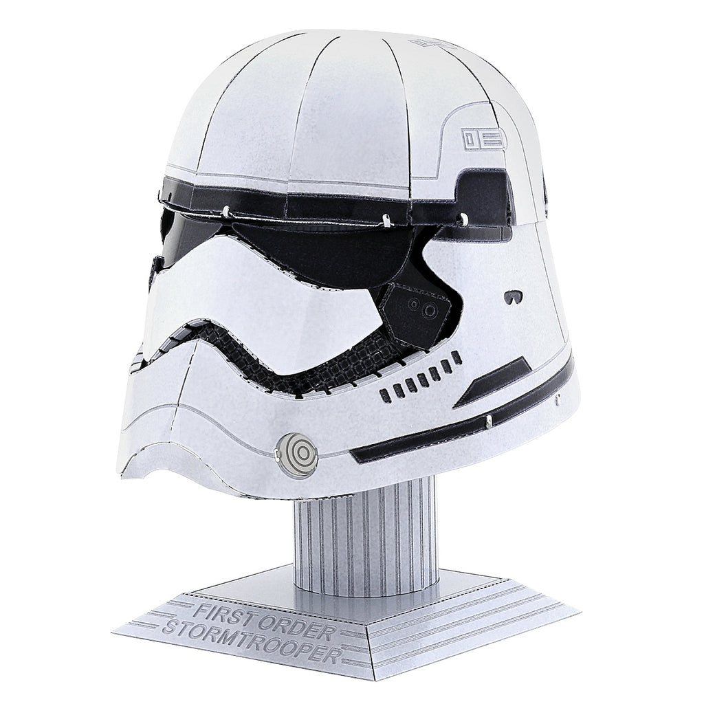 Fascinations Metal Earth 3D Model Kit - Star Wars - First Order Storm Trooper Helmet