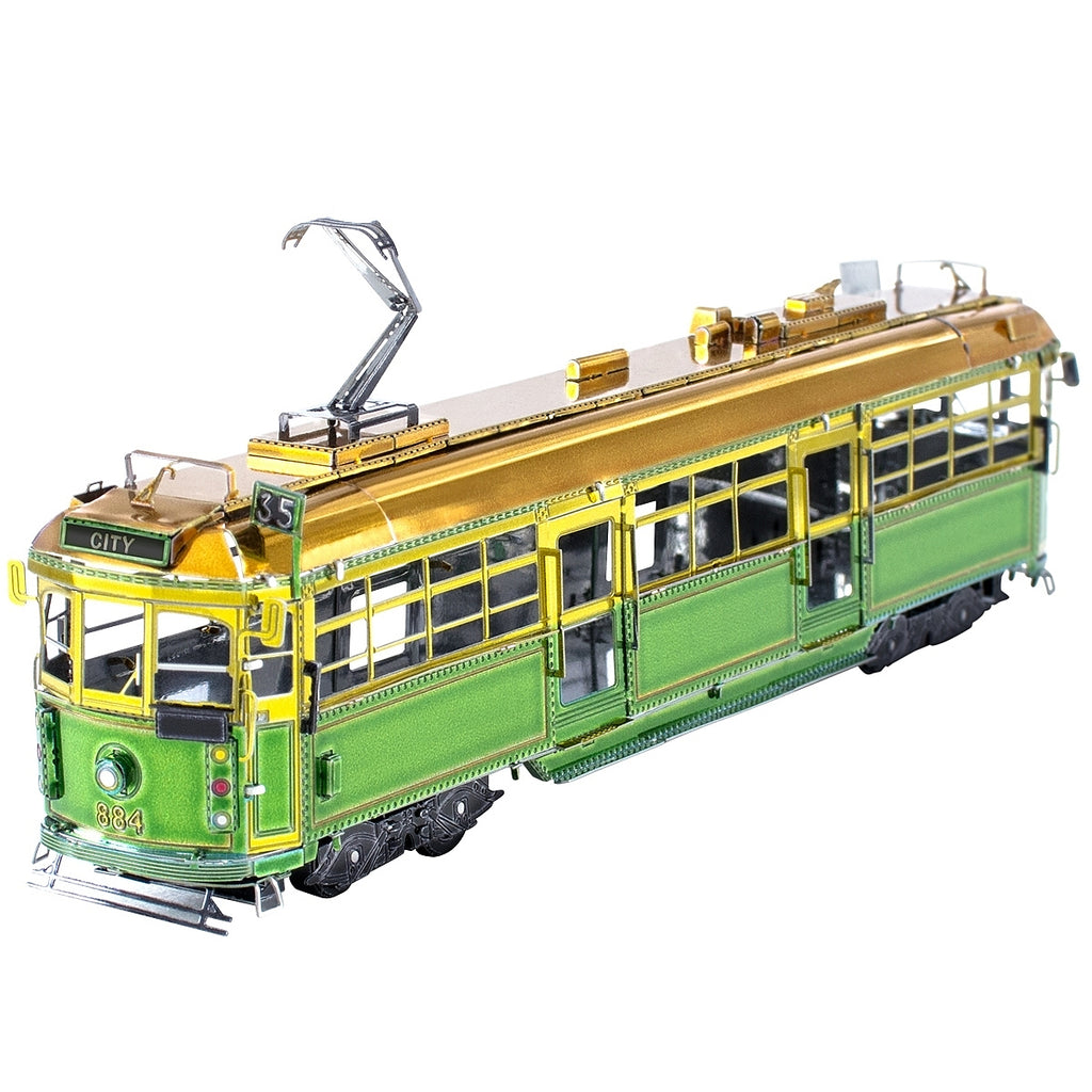 Metal Earth 3D Laser Cut Model Kit Melbourne W-Class Tram