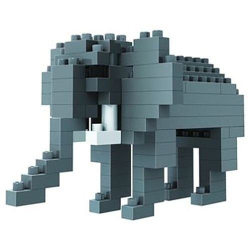 LOZ Diamond Blocks Gift Series Nano Block 100 Piece Building Set - Elephant
