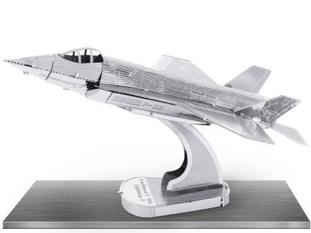 Metal Earth 3D Laser Cut Model F-35A  F-35 Lightning II Airplane