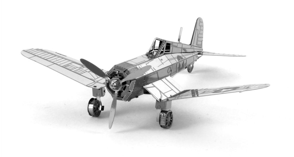 Metal Earth 3D Laser Cut Model F4U Corsair Plane
