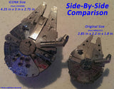 Metal Earth ICONX 3D Laser Cut Model Star Wars Millennium Falcon Premium Series